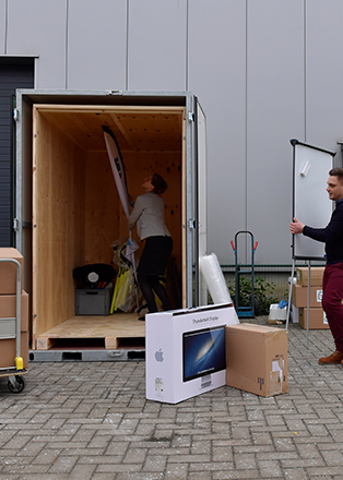 How box storage works